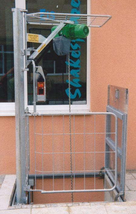RISA 250 Elektro-Hebezug